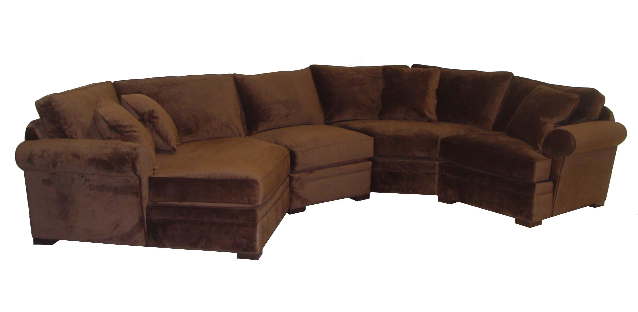 Jonathan Louis Hermes Four Piece Sectional Sofa With LAF