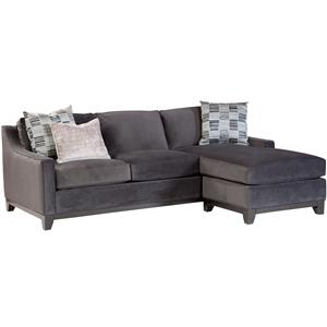 Jonathan Louis Janet Contemporary Sofa with Chaise