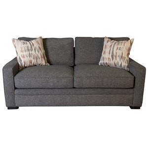 Eddie Condo Sofa with Accent Pillows
