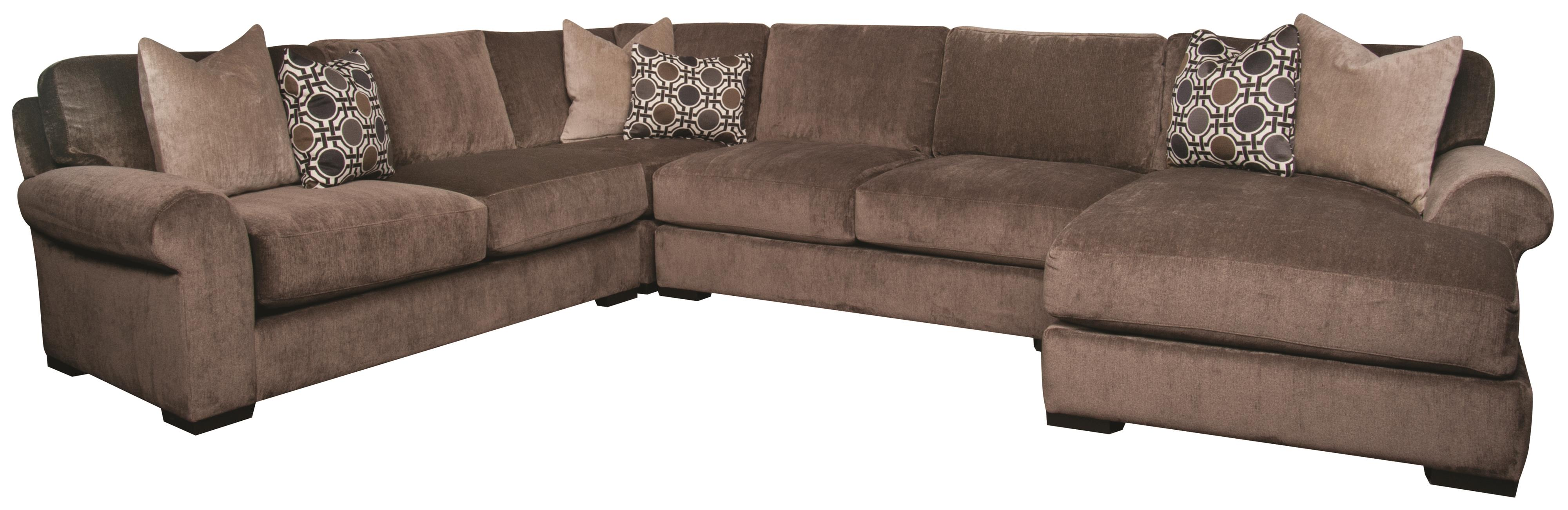 Karis 4 Piece Sectional Morris Home Sofa Sectional