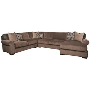 Morris Home Furnishings Karis Karis 4-Piece Sectional