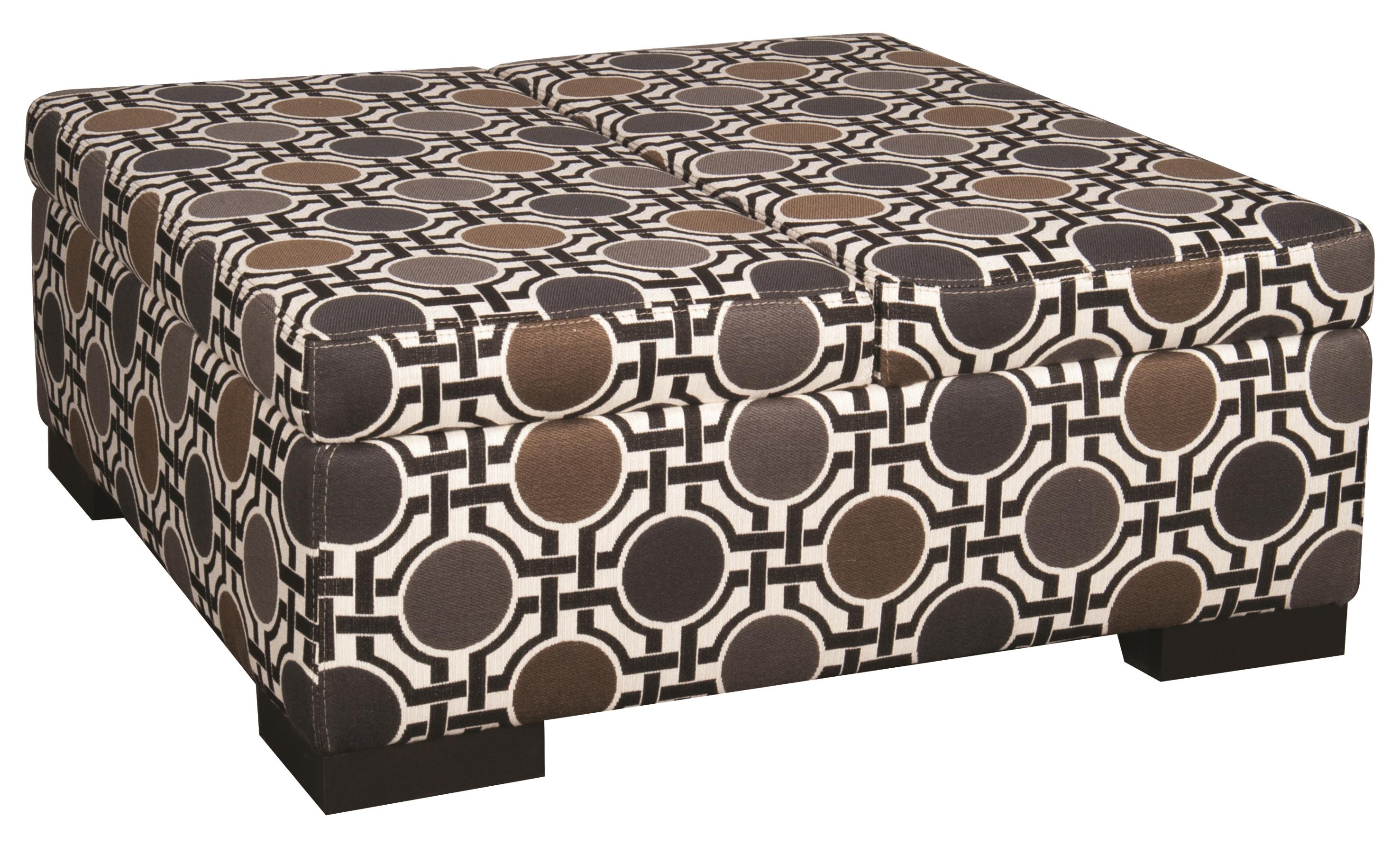 Santa Monica Karis Karis Double Storage Ottoman - Item Number: 953697499
