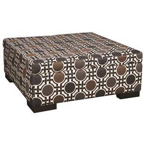 Morris Home Furnishings Karis Karis Double Storage Ottoman
