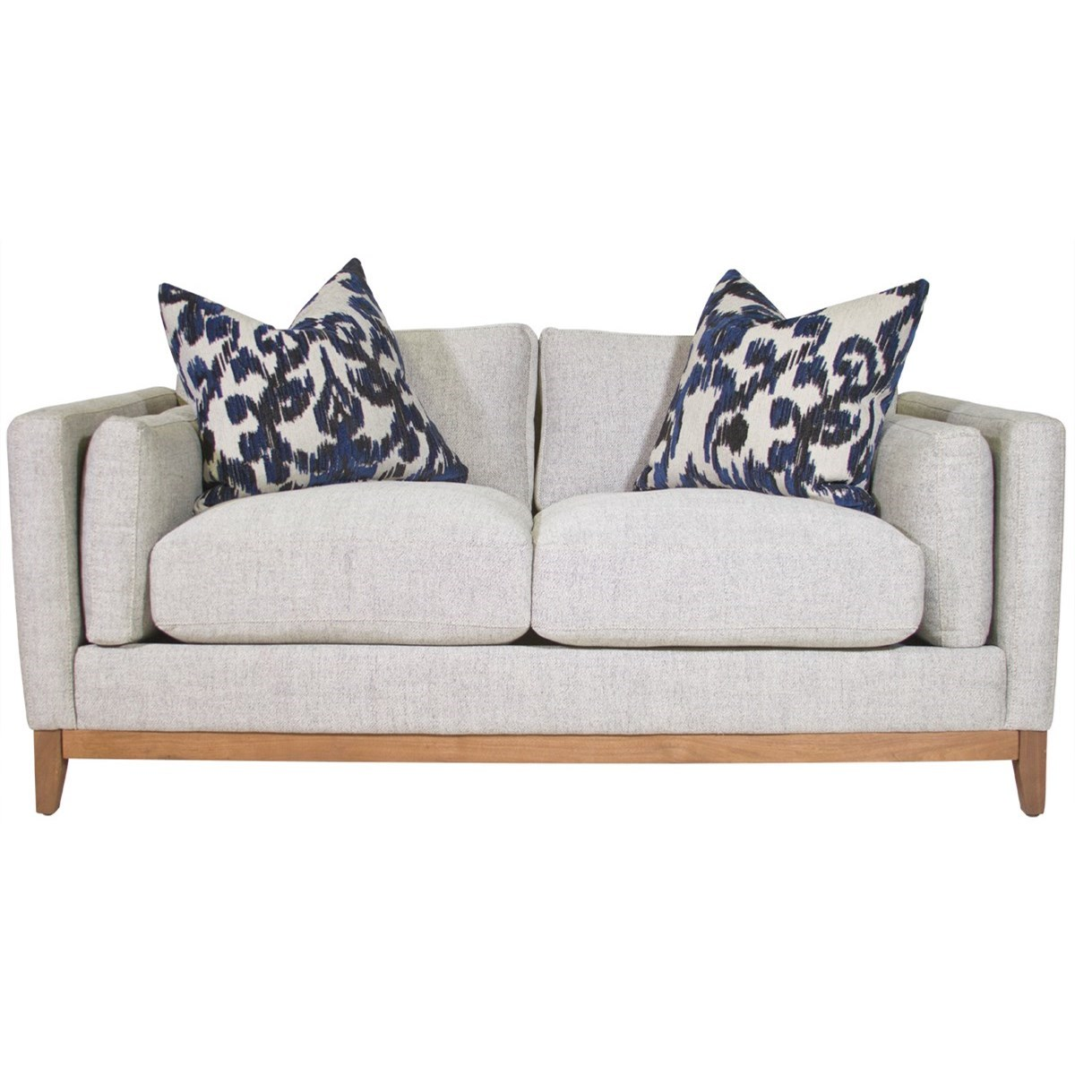 Beau Jonathan Louis Kelsey Condo Sofa   Item Number: 34760 Deauville Stone