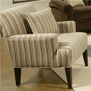 Jonathan Louis Knobhill Upholstered Arm Chair