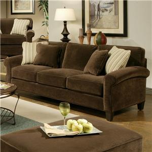 Jonathan Louis Knobhill Upholstered Sofa