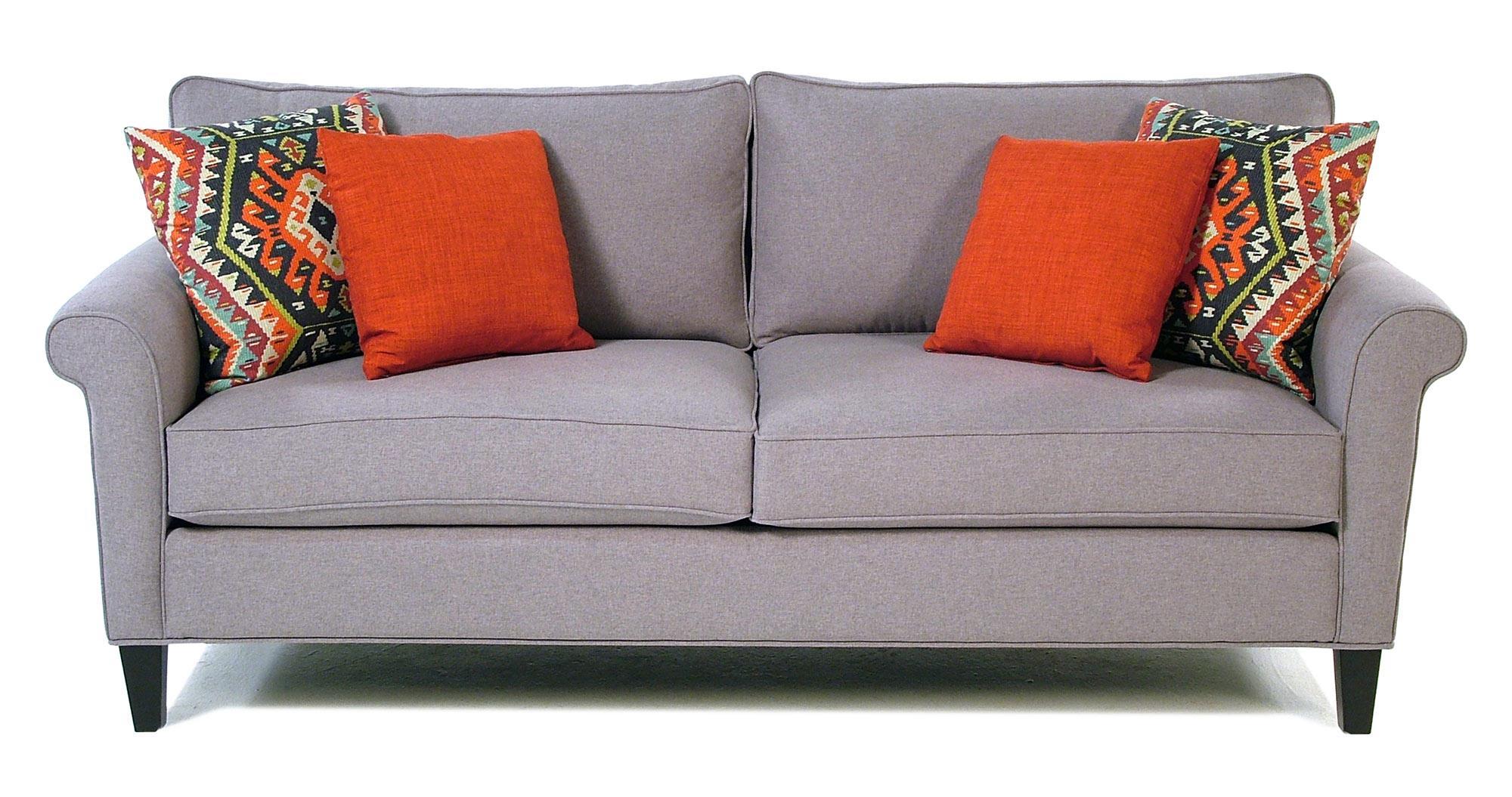 Jonathan Louis Fiesta Roll Arm Sofa   Item Number: 10230 DH