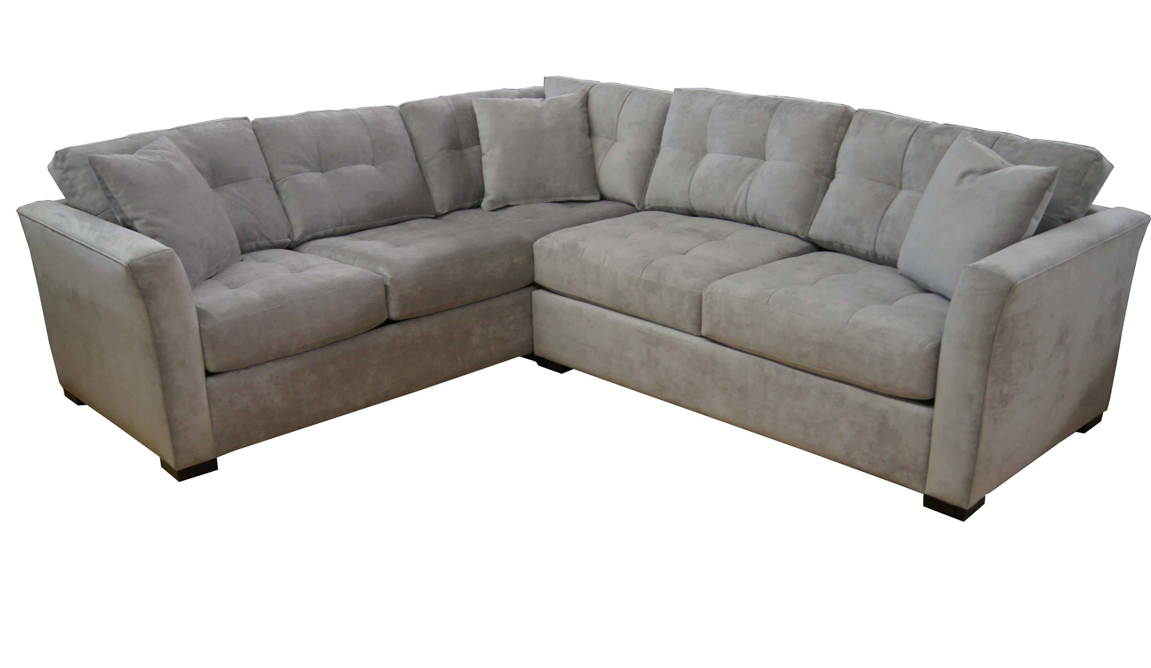 Jonathan Louis Sectional Sofa Three Piece Contemporary 126