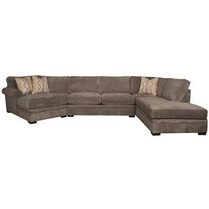 Morris Home Furnishings Linda Linda 3-Piece Sectional