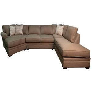Linda Sectional Sofa with Chaise