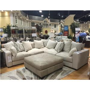 Jonathan Louis Ethan Contemporary Corner Sectional Pilgrim Furniture City Sofas
