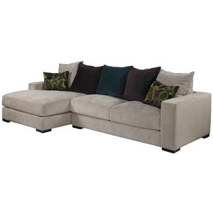 Jonathan Louis Lombardy Contemporary Sectional Sofa With Left Chaise Miskelly Furniture Sofas