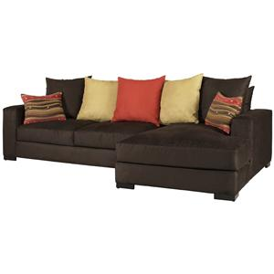 Jonathan Louis Lombardy Sectional Sofa with Right Chaise