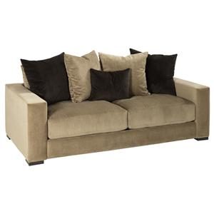 Jonathan Louis Lombardy Contemporary Sofa W Reversible Chaise Rooms And Rest Sofas