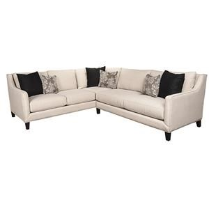 Morris Home Furnishings Lorelai Lorelai 2-Piece Sectional