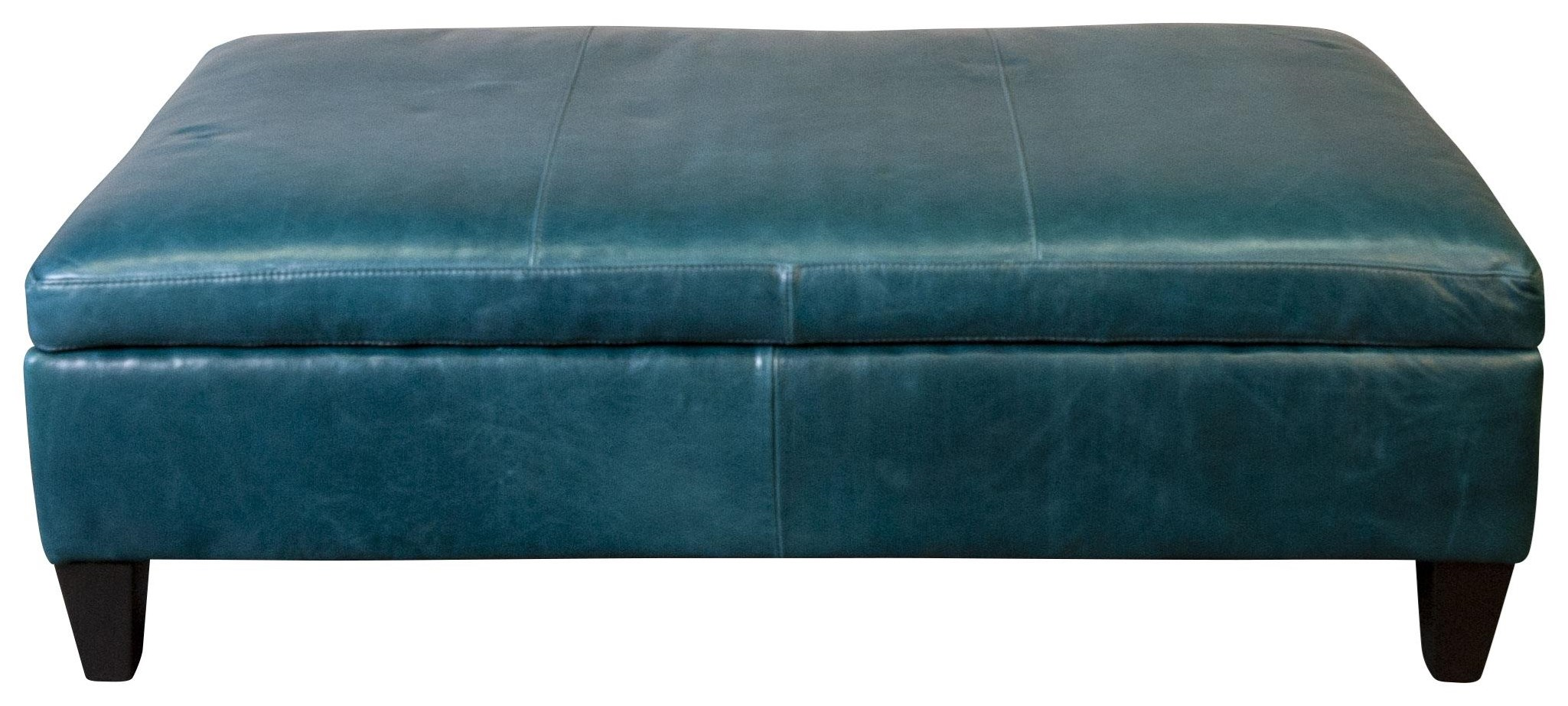 Malbec Malbec Leather Storage Ottoman by Jonathan Louis at Morris Home