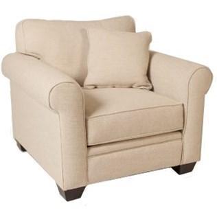Jonathan Louis Marino Chair - Item Number: 571-01-Notion Cream Puff