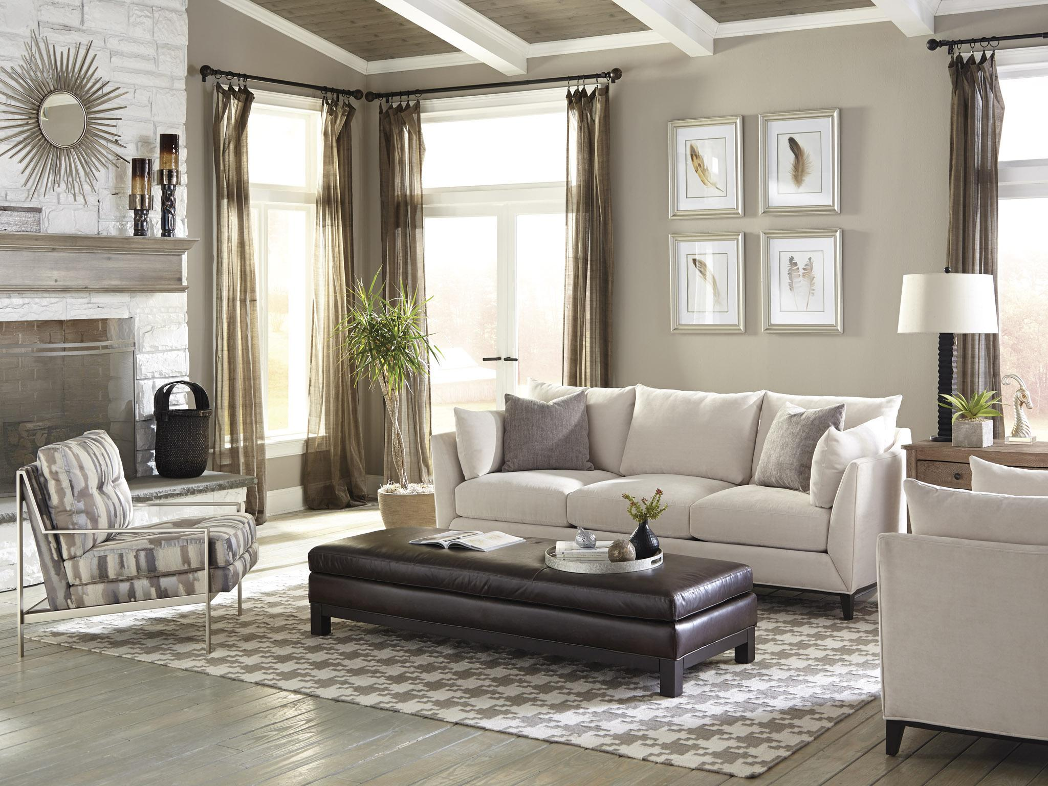 Jonathan Louis Metro Estate Contemporary Estate Sofa With