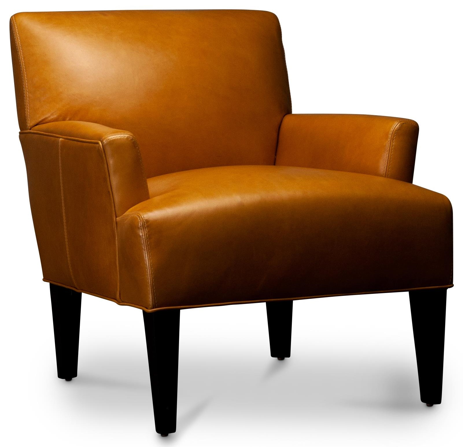 Nevaeh Nevaeh Leather Accent Chair by Jonathan Louis at Morris Home