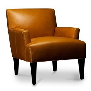 Nevaeh Leather Accent Chair