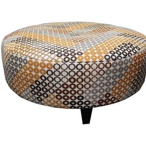 Large Round Ottoman