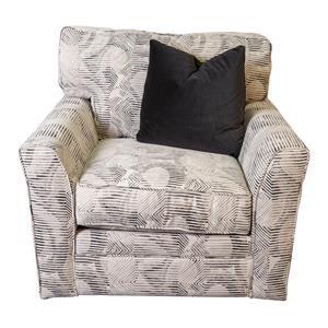 Paisley Swivel Chair