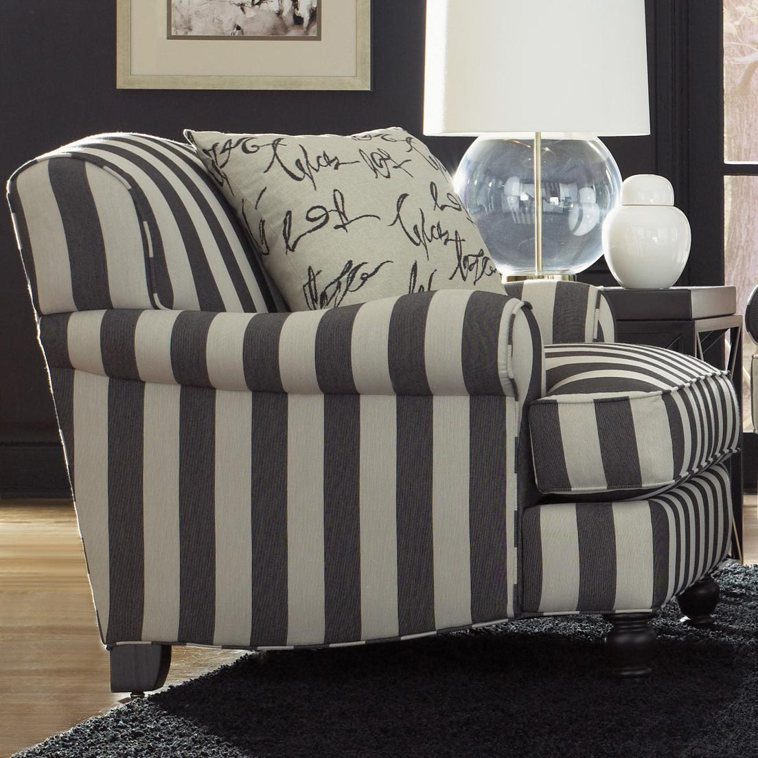 Quincy  Arm Chair by Jonathan Louis at Stoney Creek Furniture