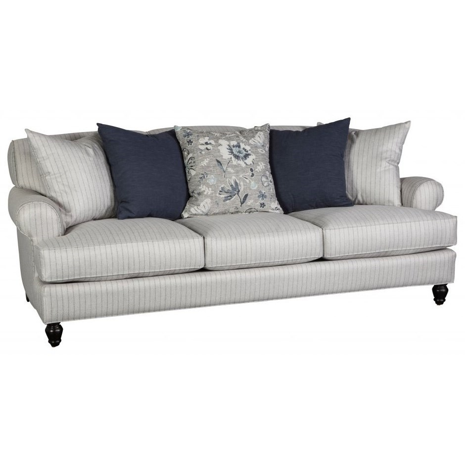 Awesome Jonathan Louis Quincy Sofa   Item Number: 22930 Gray Pinstripe