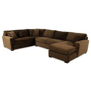 Jonathan Louis Echo 3PC Chaise Sectional