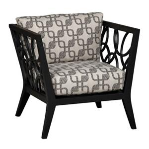 Superbe Jonathan Louis Ridley Metal Accent Chair