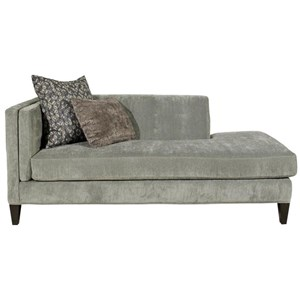 Jonathan Louis Strathmore Traditional One Arm Sofa