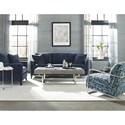 Jonathan Louis Tatum Traditional Sofa with Nailhead Trim - Ottoman and Accent Chair Not Included in Collection