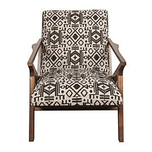 Morris Home Furnishings Warren Warren Wooden Accent Chair