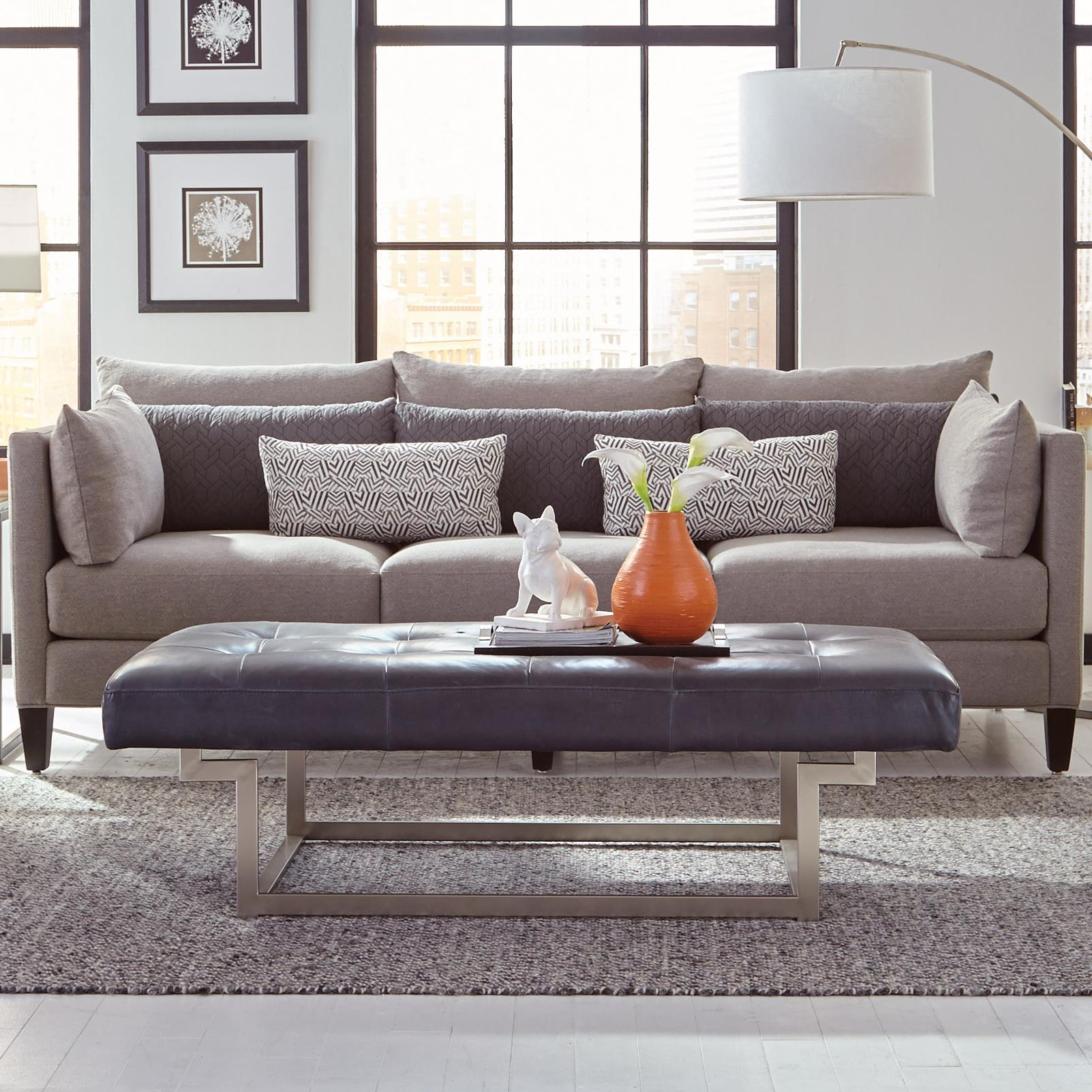 Marlo Furniture Living Room Jonathan Louis Windsor Transitional Estate Sofa With Tuxedo Arms