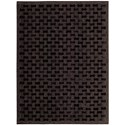 """Joseph Abboud by Nourison  Chicago 5'3"""" x 7'5"""" Rug - Item Number: CHI05 BLK 53X75"""