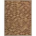 """Joseph Abboud by Nourison  Chicago 5'3"""" x 7'5"""" Rug - Item Number: CHI08 BRN 53X75"""