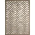 """Joseph Abboud by Nourison  Chicago 5'3"""" x 7'5"""" Rug - Item Number: CHI14 GRY 53X75"""