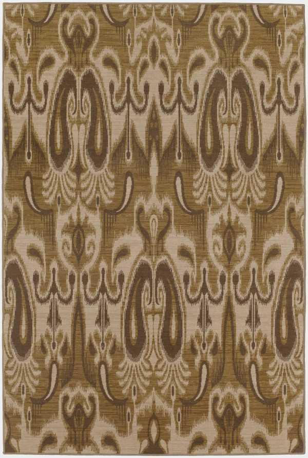 Karastan Rugs Belaire 8 x 10 Area Rug : Wheat - Item Number: 940221649