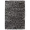 Karastan Rugs After 5 Shag 4'x5'7 Charcoal Rug - Item Number: RG115 0083 048067