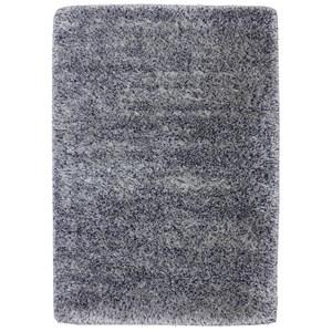 Karastan Rugs After 5 Shag 4'x5'7 Blue Silver Rug