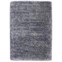 Karastan Rugs After 5 Shag 5'3x7'7 Blue Silver Rug - Item Number: RG115 155 063091
