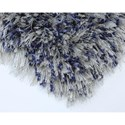 Karastan Rugs After 5 Shag 7'11x10'10 Blue Silver Rug