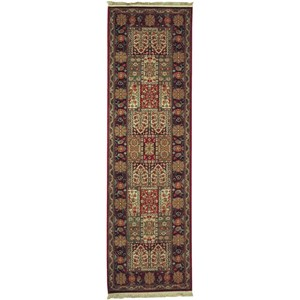 Karastan Rugs Antique Legends 2'6x8'6 Bakhtiyari Rug Runner