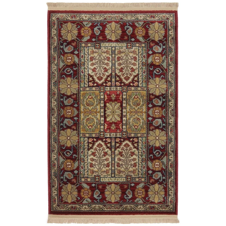 Karastan Rugs Antique Legends 5'9x9' Bakhtiyari Rug - Item Number: 02200 00202 069108