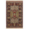Karastan Rugs Antique Legends 8'8x10' Bakhtiyari Rug - Item Number: 02200 00202 104120