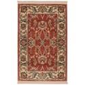 Karastan Rugs Ashara 2'6x4' Agra Red Rug - Item Number: 00549 15002 030048