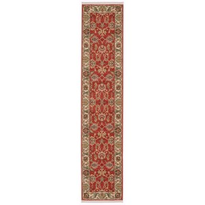 Karastan Rugs Ashara 2'6x12' Agra Red Rug Runner