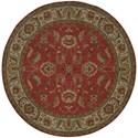 Karastan Rugs Ashara 4'3x6' Agra Red Rug