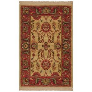 Karastan Rugs Ashara 5'9x9' Agra Ivory Rug