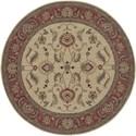 Karastan Rugs Ashara 8'8x10' Agra Ivory Rug